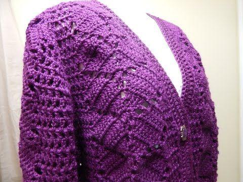 Como hacer un ojal vertical en tejido crochet tutorial paso a paso. - YouTube
