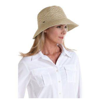 dbcdd4056a8f0f Coolibar UPF 50+ Women's Packable Beach Bucket Hat - Sun Protection (One  Size - Tan) Coolibar. $25.00