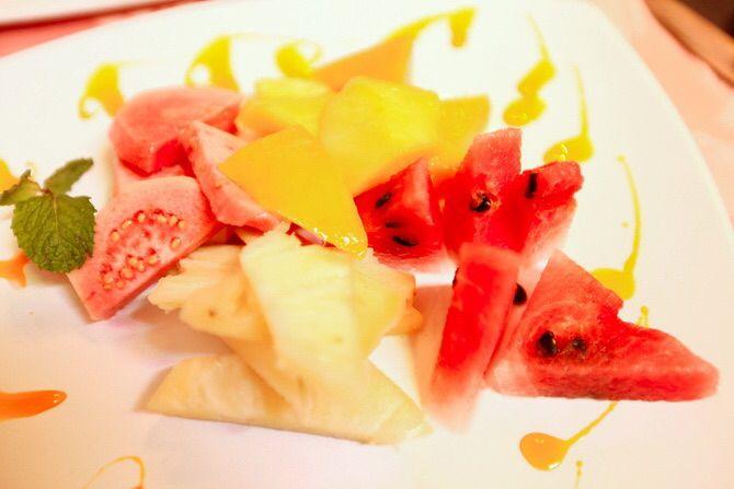 Fashion food #fruitsalad