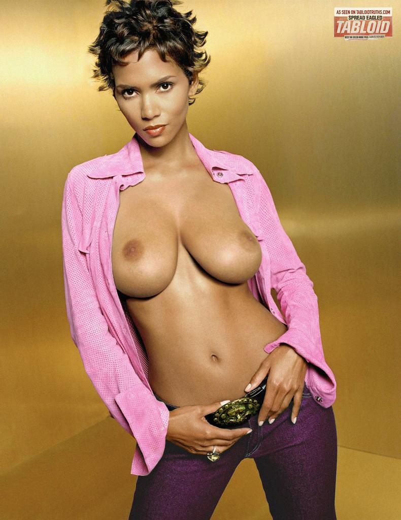 Rude pics halle berry group sex