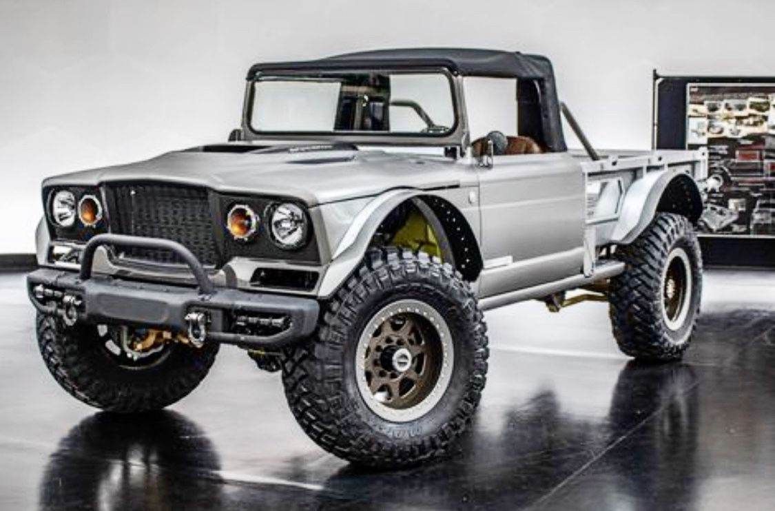 Gladiator M 715 Resto Mod Jeep Jeep Gladiator Offroad Vehicles