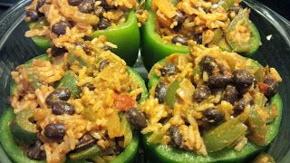 Foodie Friday: Meatless Mexican Stuffed Peppers