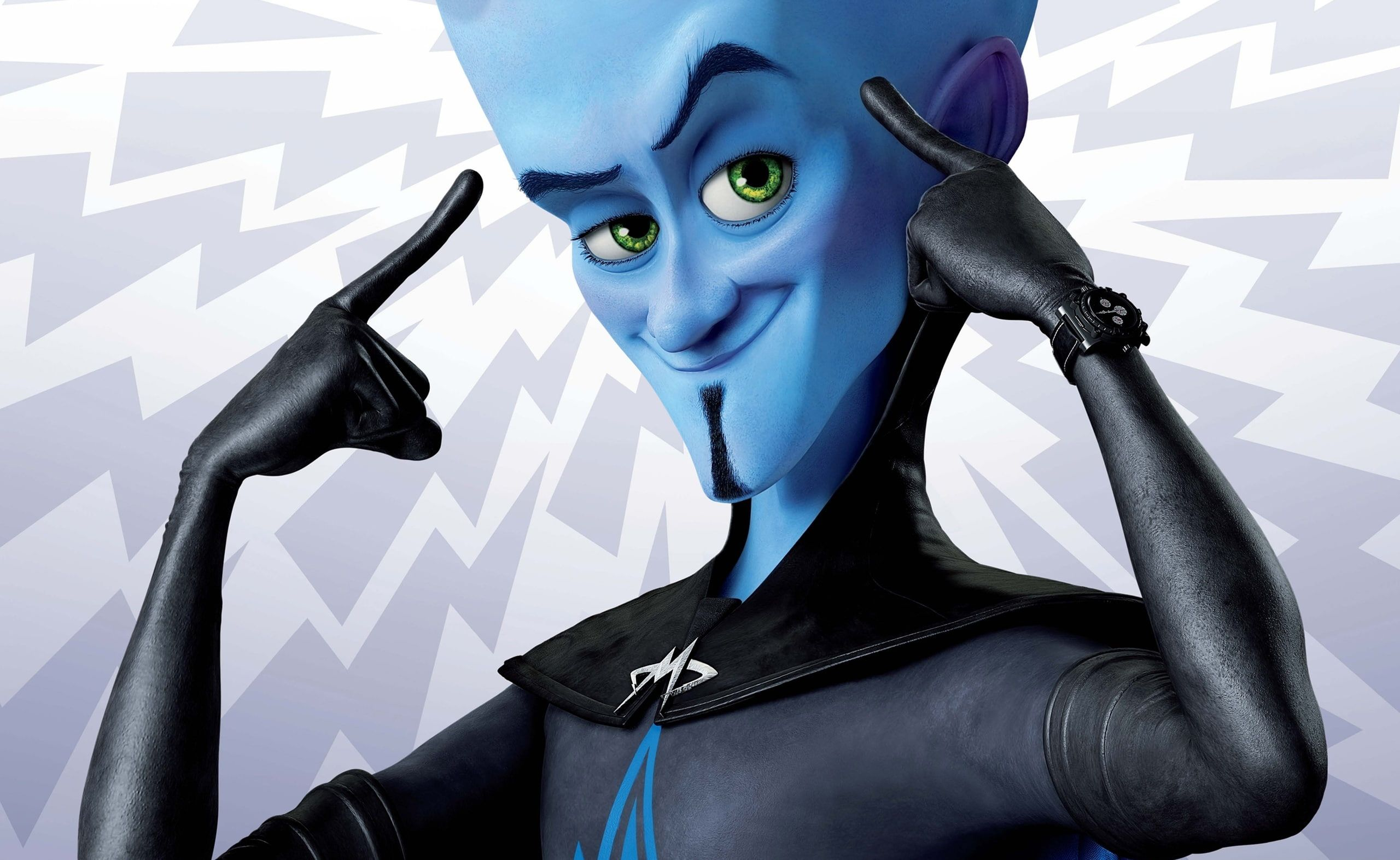 Will Ferrell As Megamind Megamind Character Cartoons Others Megamind Will Ferrell As Megamind Superhero Mo Megamind Characters Superhero Movies Hero Poster