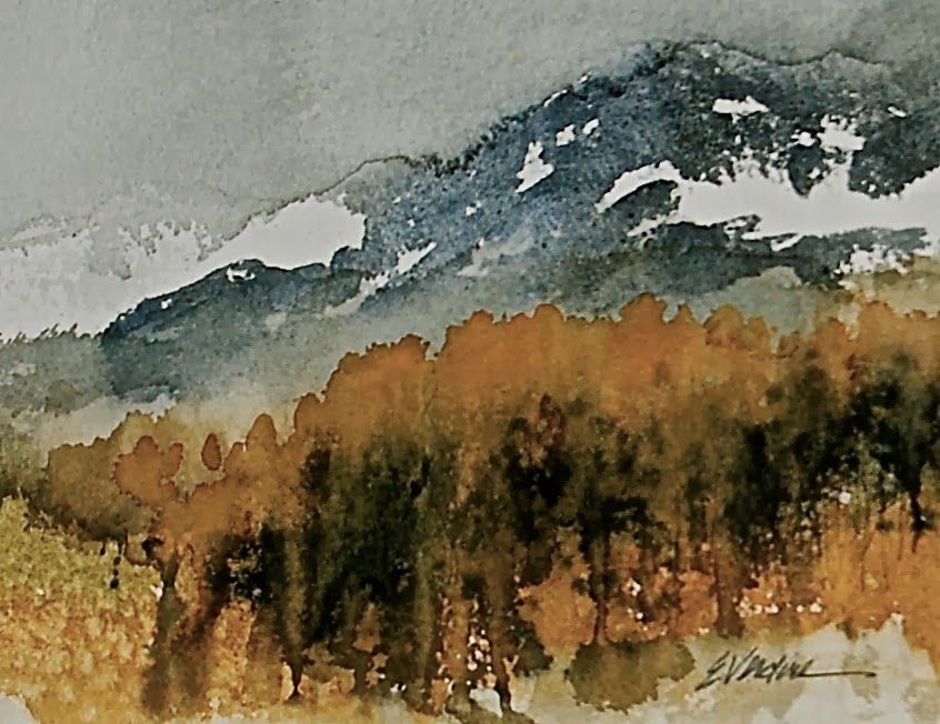 UTAH LANDSCAPES IN WATERCOLOR