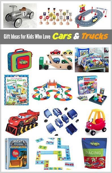 15 Gift Ideas For Kids Who Love Cars And Trucks Creative