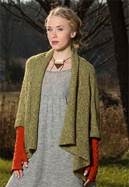 Army of Knitters Olivebridge Cardi PDF Download