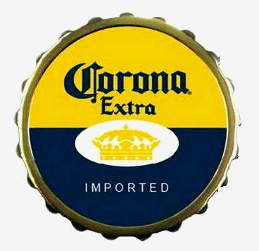 Google Image Result For Http Www Prosportstickers Com Product Images U Corona Extra Bottle Cap 01367 Jpg Beer Logo Corona Bottle Bottle Cap