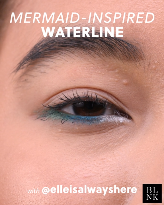 Photo of Mermaid-Inspired Ombré Waterline Tutorial #ombrewaterline #makeuptutorial #merm…