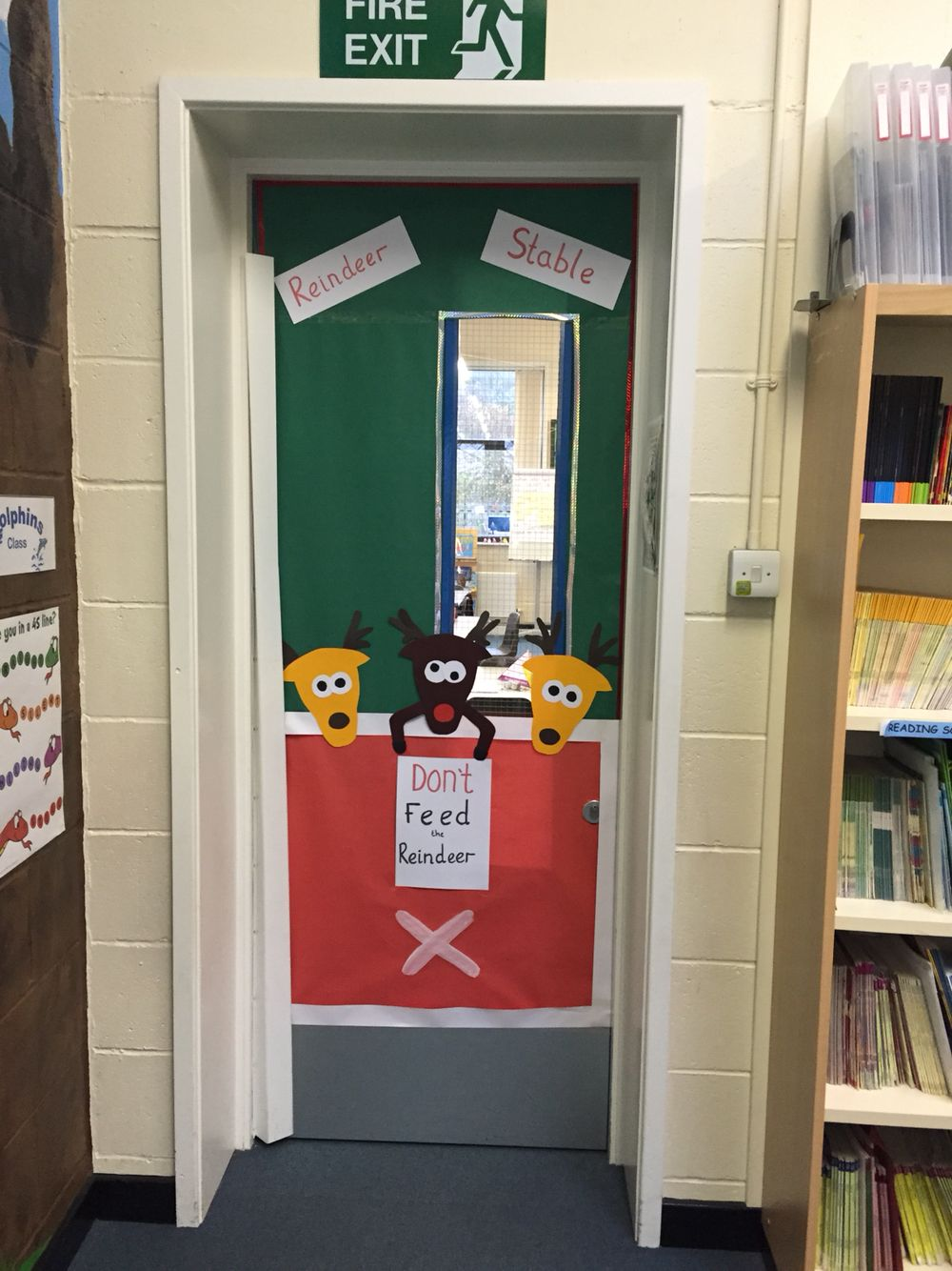 My new reindeer door :)
