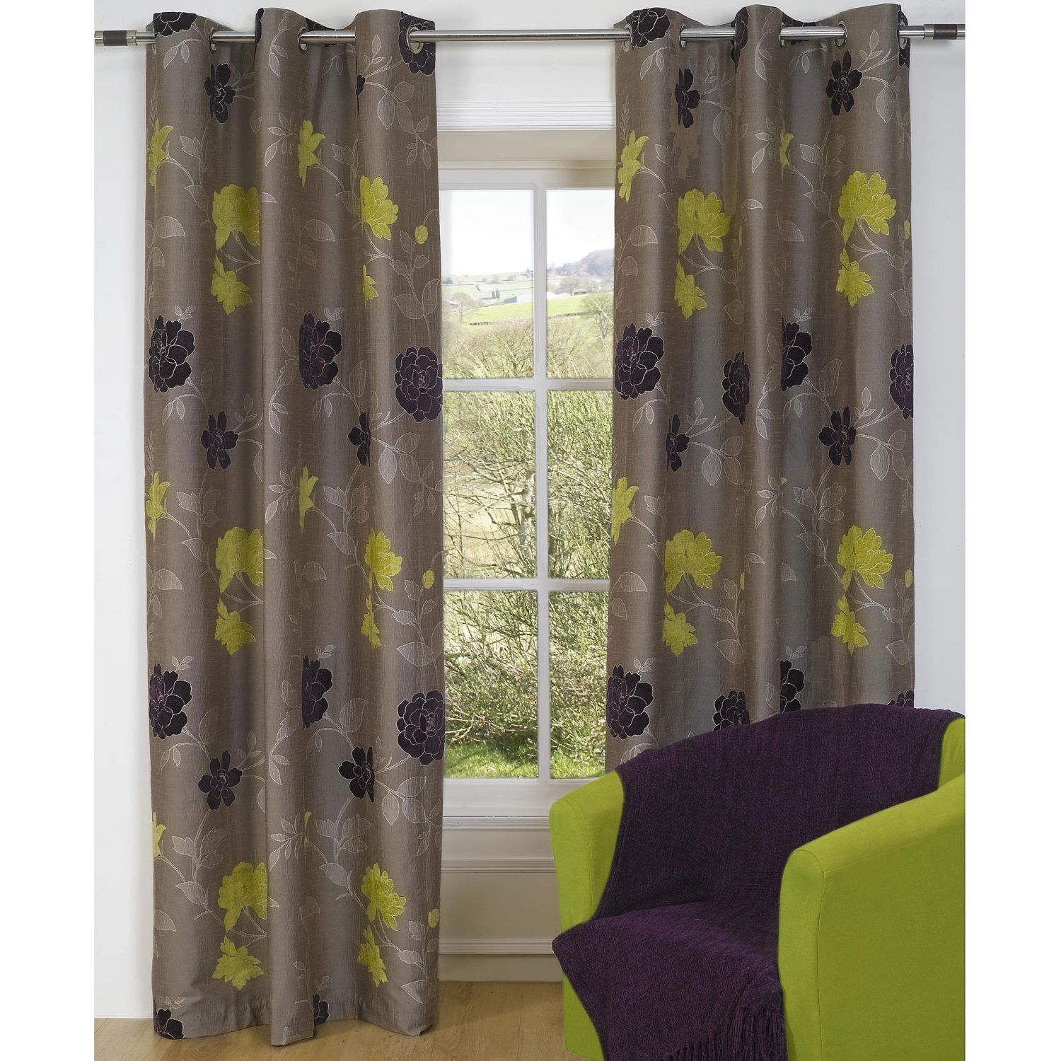 Astounding lime green curtains lime green curtains