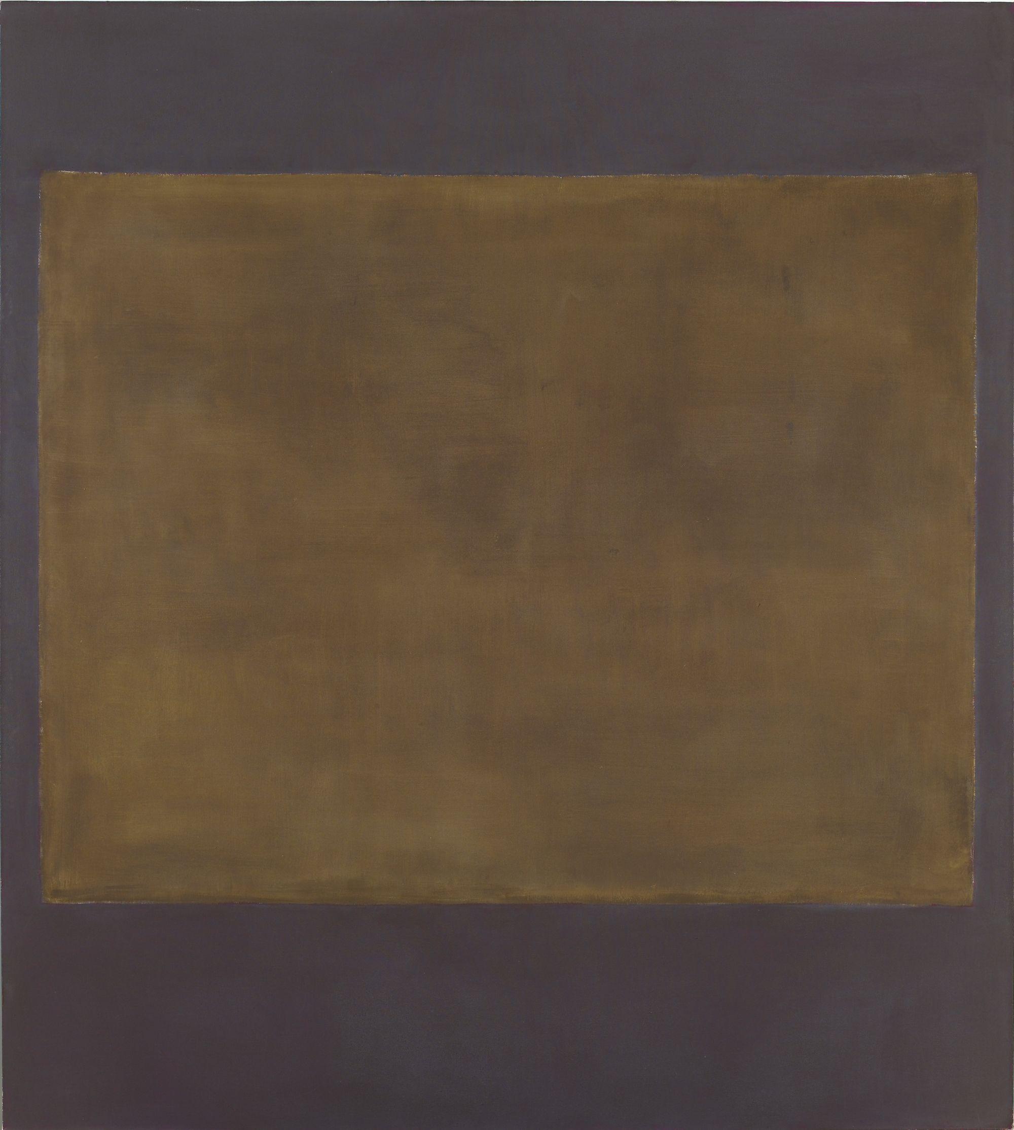 Untitled (Plum and Dark Brown) (Mark Rothko,1964)