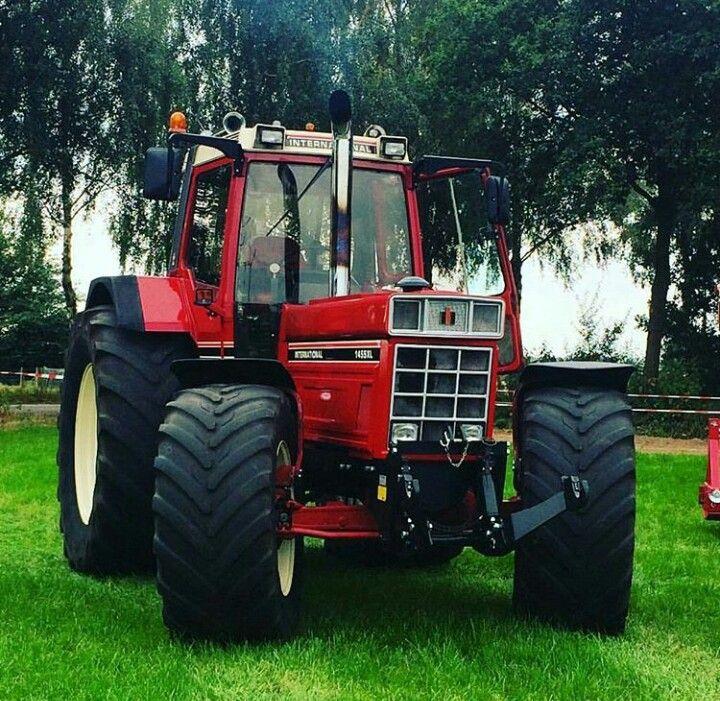 International 1455 Xl Oude Tractoren Tractor Vrachtauto
