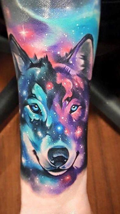 Wolf Tattoo Color Google Zoeken Tattoos Animal Tattoos Wolf Tattoo