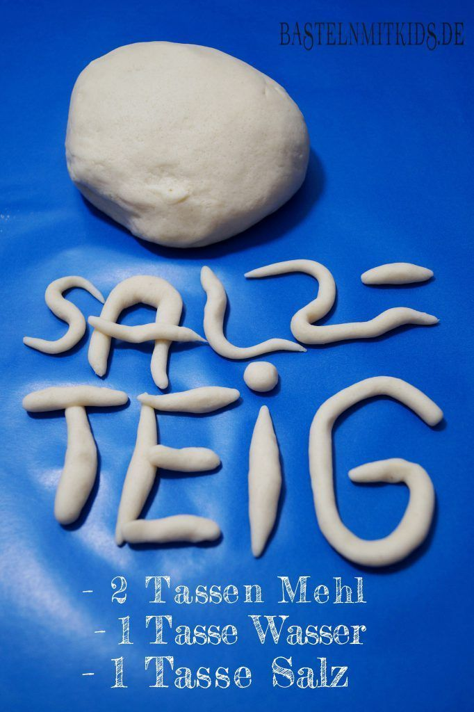 Photo of Salt dough recipes – handicrafts with children