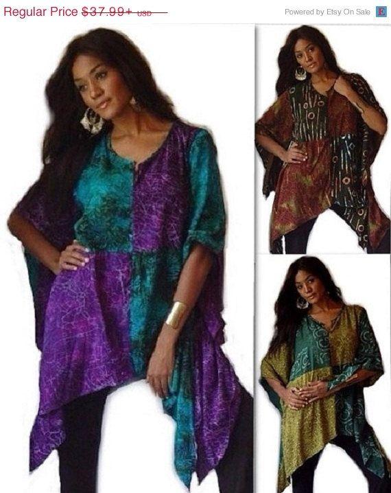 XMAS 20% OFF B234 Beautiful Batik by LotusTradersClothing on Etsy