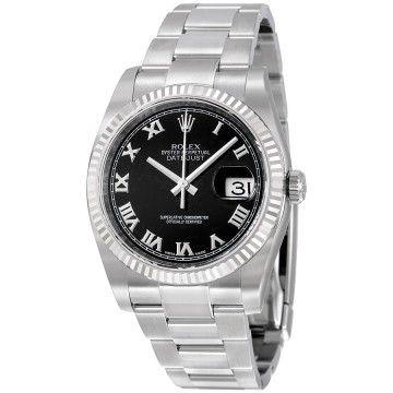 Rolex Datejust 41 Black Diamond Dial Price