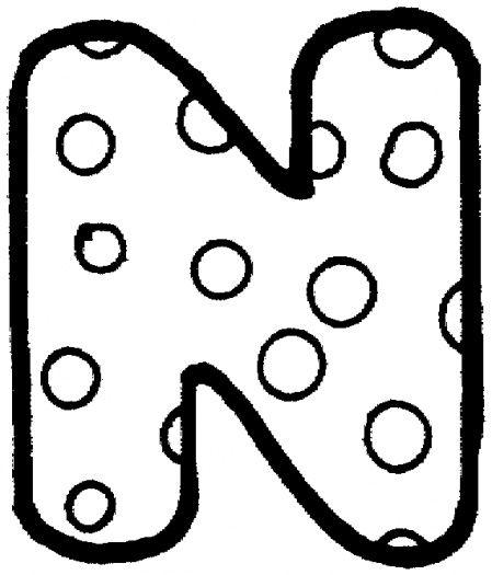 Printable Tracing Alphabet Letters Şekilli harf