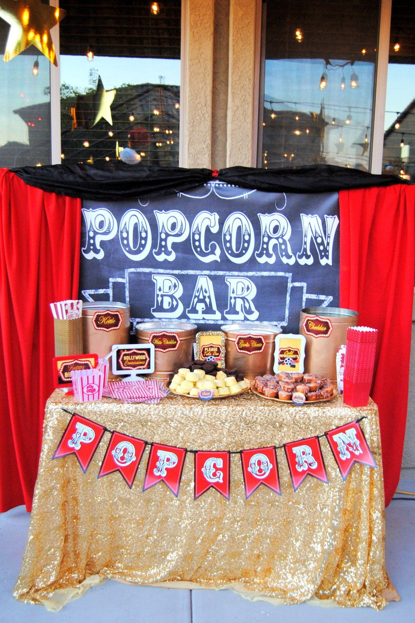 Red Carpet Party Ideas