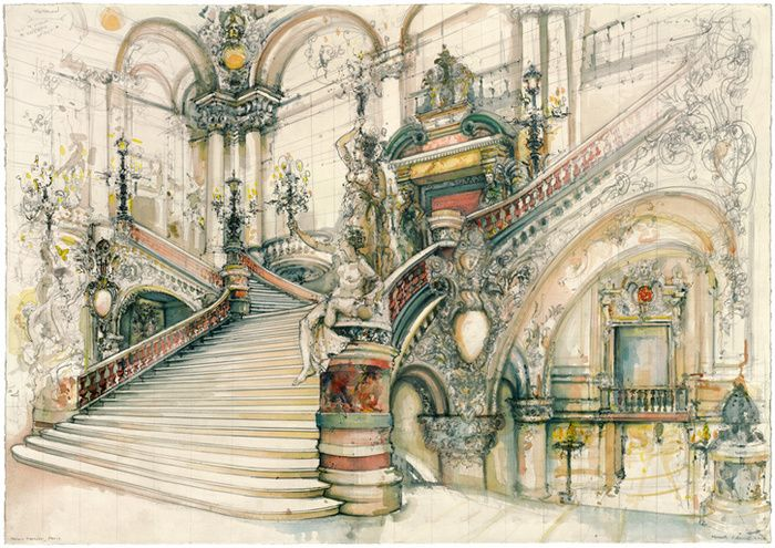 pen and watercolor art - Google Search