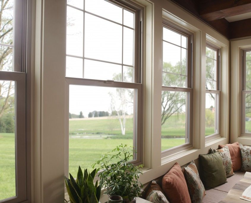 Get Your Home Look New In New Year Get Vinyl Replacement Windows Installed From Leading Manufacturer And Supplier Get Milgard Windows Windows And Doors Home