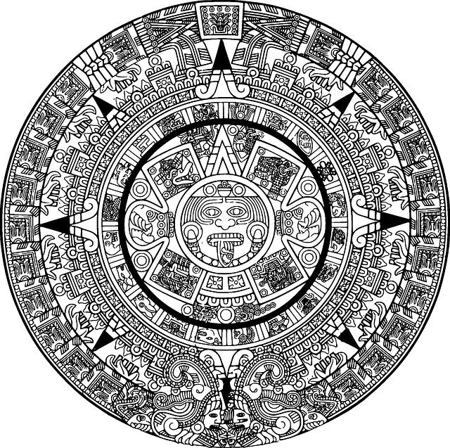 kostenloses bild auf pixabay azteken kalender