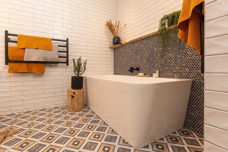 Tile Space The Block Nz Contemporary Bathroom Designs Modern Master Bathroom