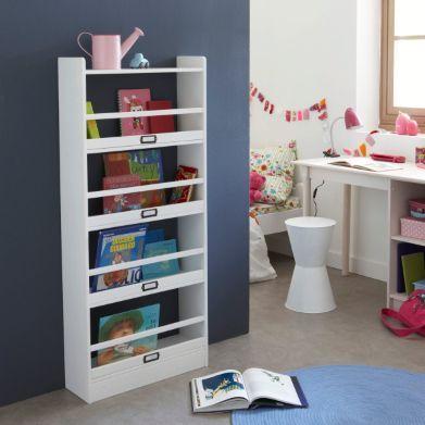 biblioth que tag re pin massif la redoute prof 20 79. Black Bedroom Furniture Sets. Home Design Ideas