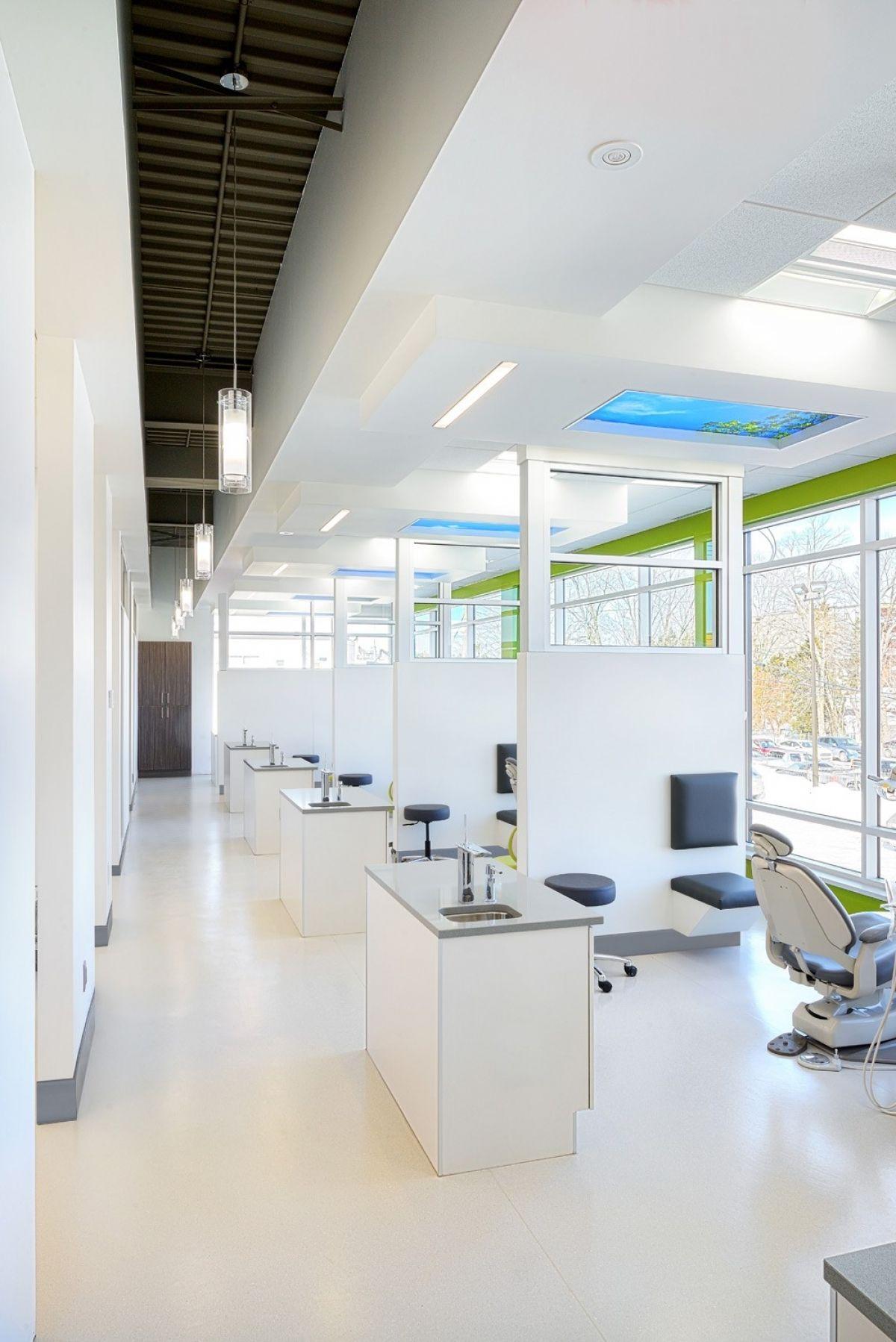 Clinique d 39 orthodontie andr martel design d 39 int rieur - Cabinet dentaire design ...