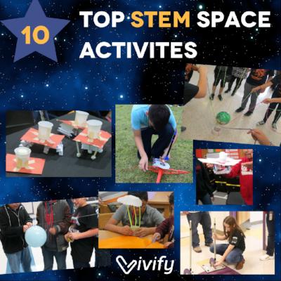 Top 10 STEM Space Activities #stemactivitieselementary
