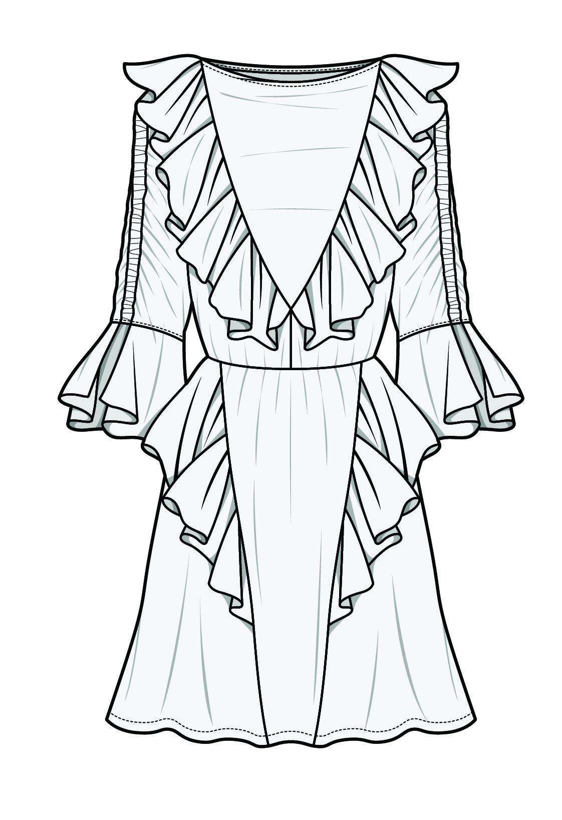 Bykym Drawing Dress Costume Pinterest Fashion Fashion