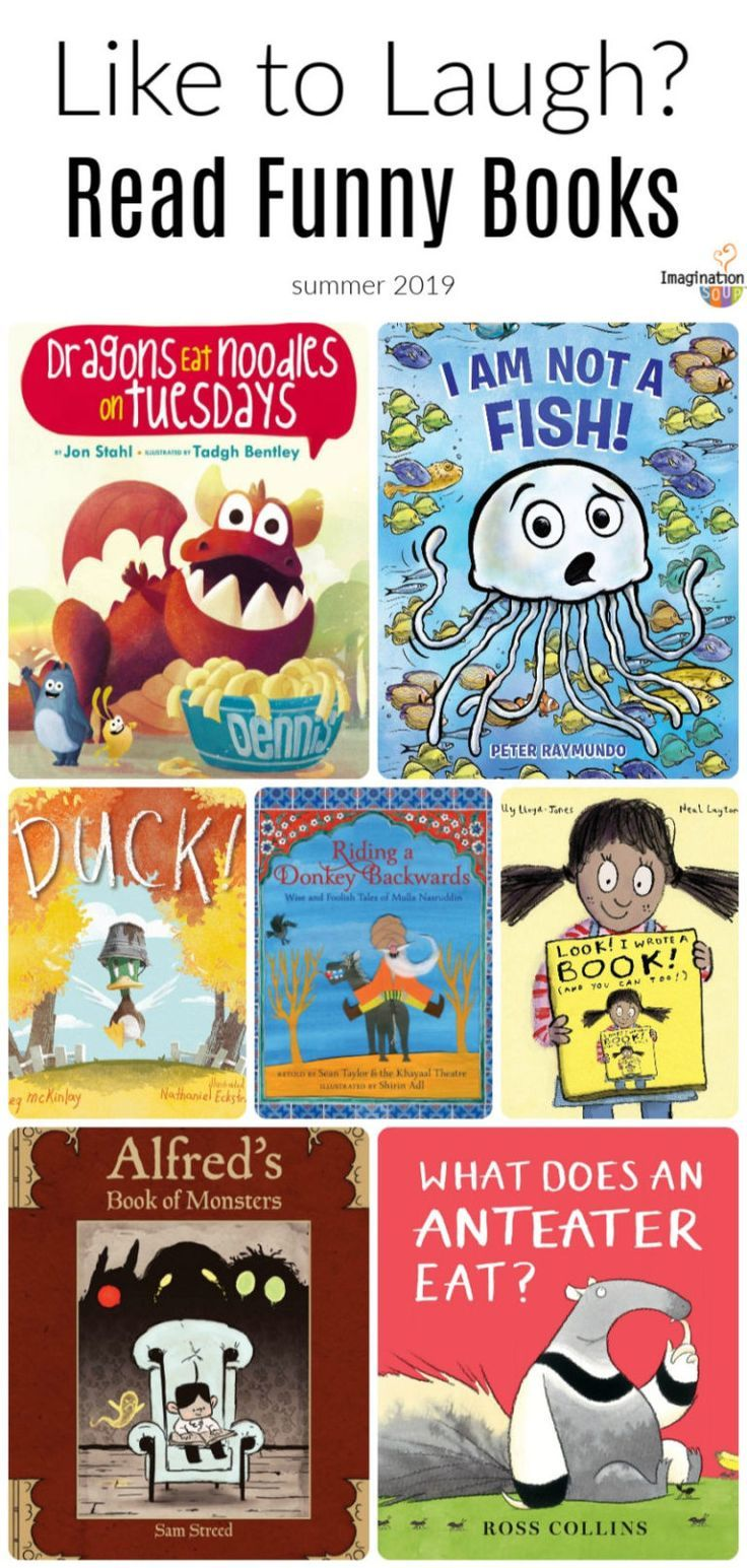 Like to laugh check out these humorous picture books