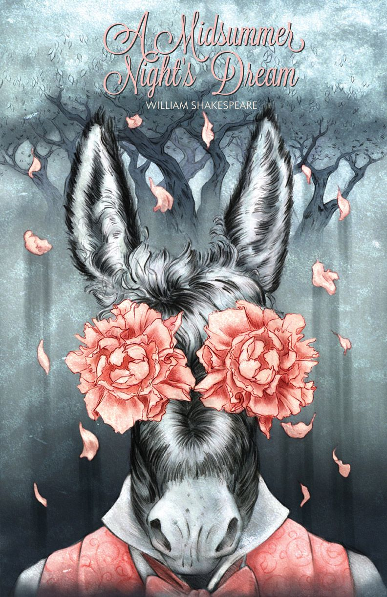 Celia krampien a midsummer nights dream poster