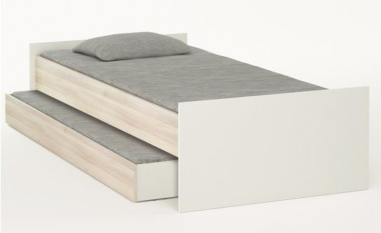 Caratteristiche stile moderno versione 1 piazza con secondo letto estraibile materiale - Letto estraibile moderno ...