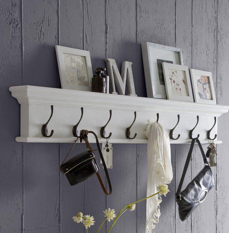 wall mounted coat hanger rack