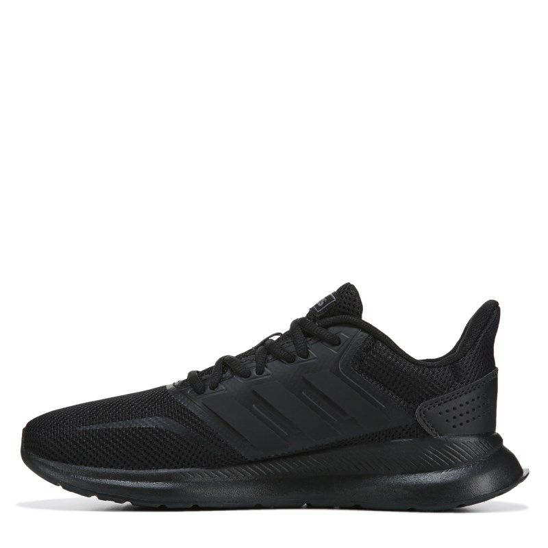 best sneakers 912a8 65a4c Adidas Womens Runfalcon Running Shoes (BlackBlackBlack)
