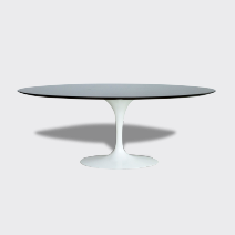 Table Tulipe Knoll Ovale En Palissandre Mobilier De Salon Table Tulipe Knoll Table Tulipe