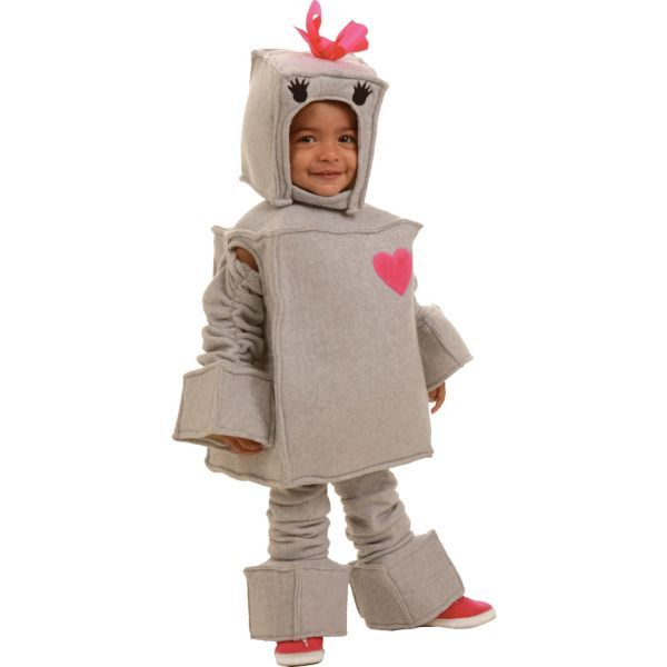 Toddler Girls Rosalie the Robot Costume This is Halloween - halloween ideas girls