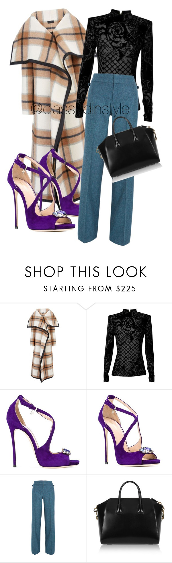 """Untitled #109"" by mama-liciuos ❤ liked on Polyvore featuring Joseph, Balmain, Dsquared2, Gucci and Givenchy"