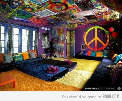 Hipster Bedroom Decor | My Mom Would Kill Me If This Was My Room, But