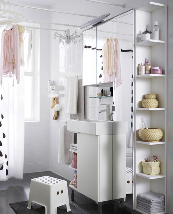 Studio Inma Bermudez Ikea Lillangen Kitchen Design Small Space Ikea Bathroom Modern White Bathroom