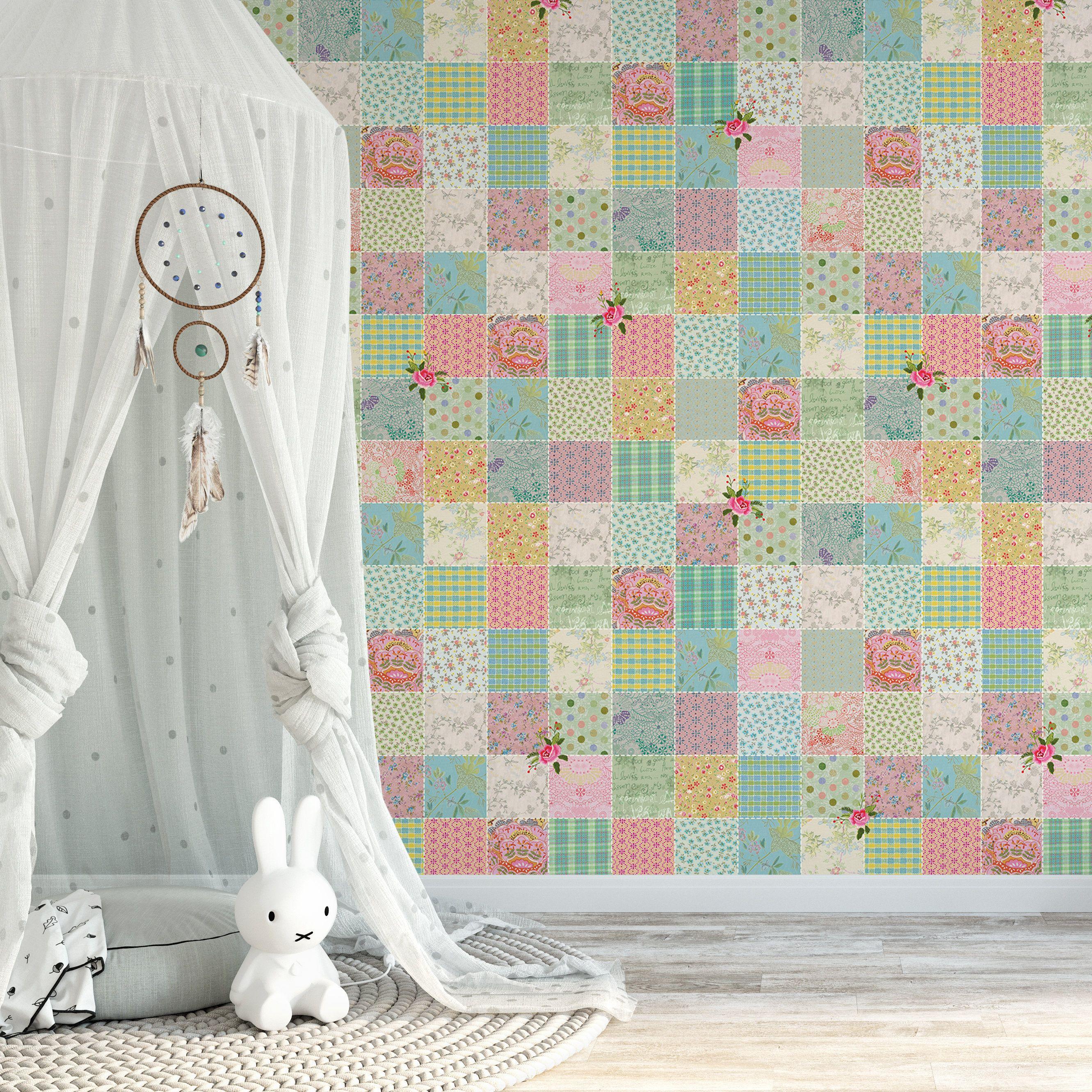 Self Adhesive Wallpaper, Nursery Wallpaper, Baby Room