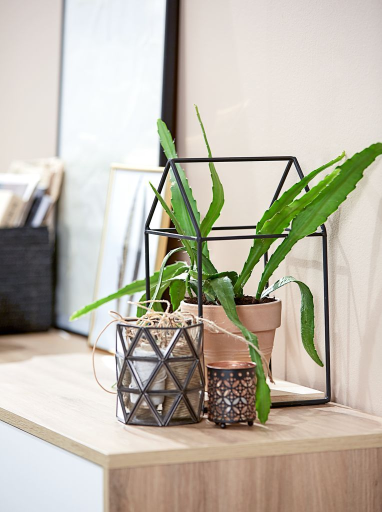 Metal Home Accessories Contrast Great With A Touch Of Greenery And Nature Key For Scandinavian Home Style Scandinav Home Accessories Scandinavian Decor Decor