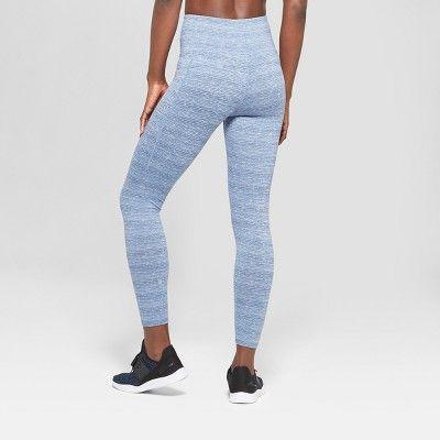 6ae0bb39b383fa Women's Studio High-Waisted Leggings 25 - C9 Champion Lite Blue Spacedye Xxl