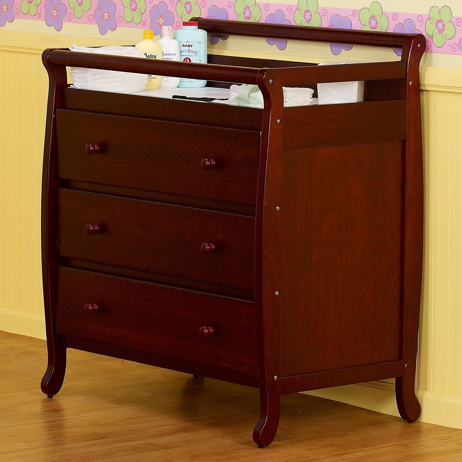 Wood Baby Baby Furniture Brown Color | Baby Cribs | Pinterest