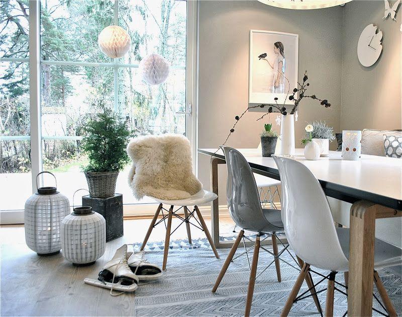 Norske interiørblogger HOME Pinterest Weihnachten - moderne wohnzimmer grau
