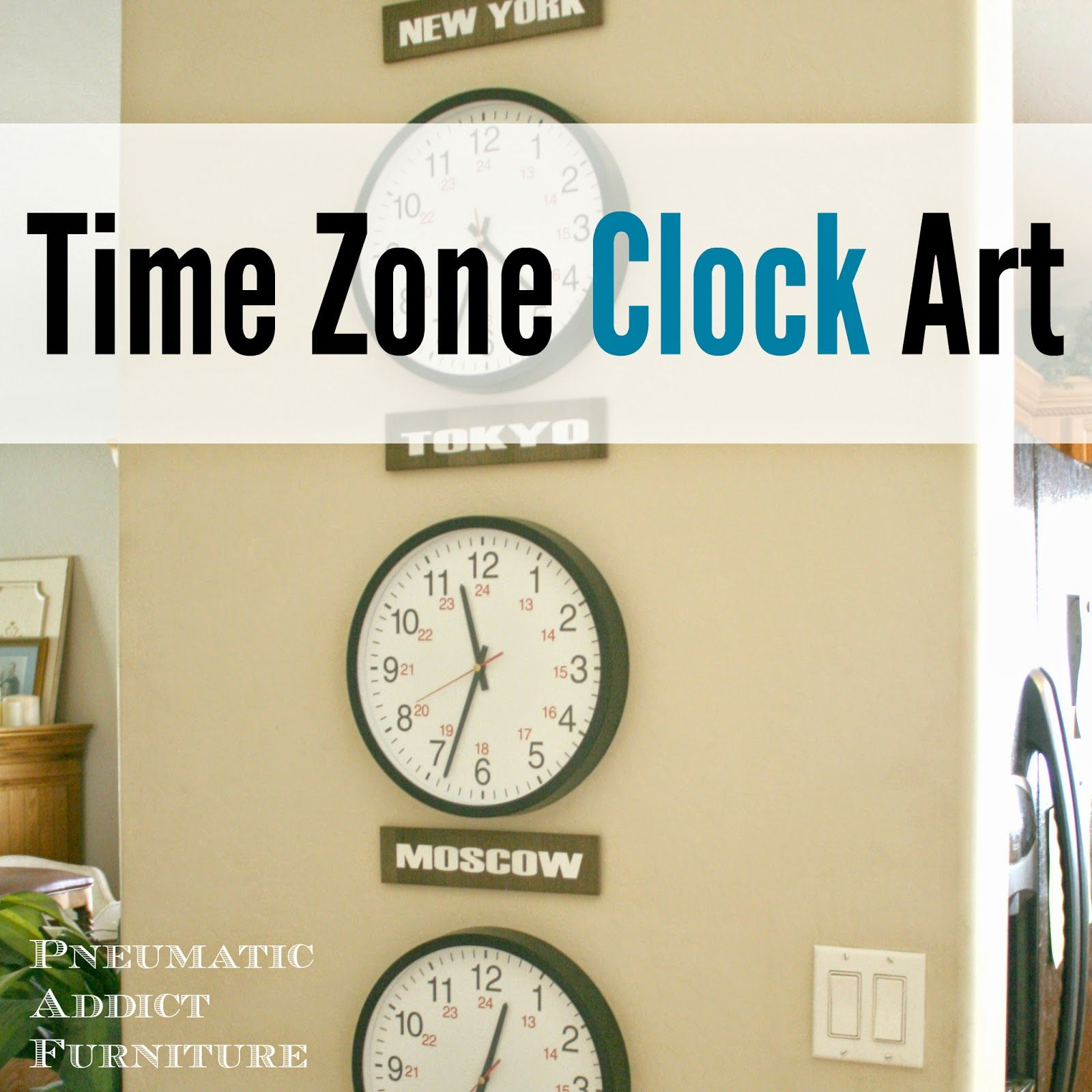 What Time Is It In Moscow?: Time Zone Clock Art | Pinterest | Time ...