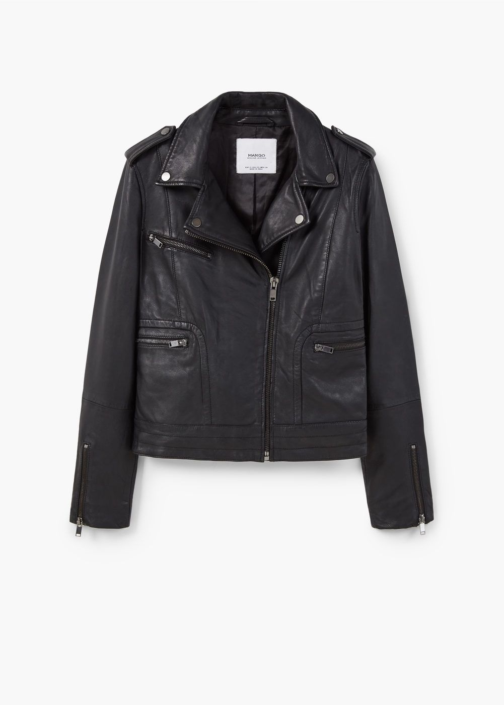 047a438ab20 Leather biker jacket - Women