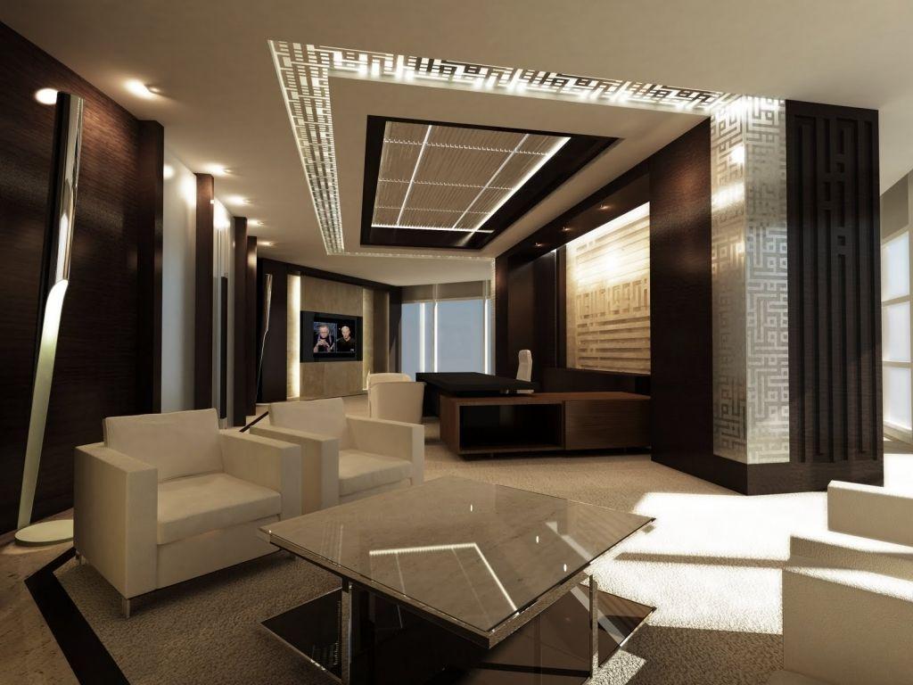 Elegant Ceo Luxury Office Contemporary Interior Design Amazing Home ...