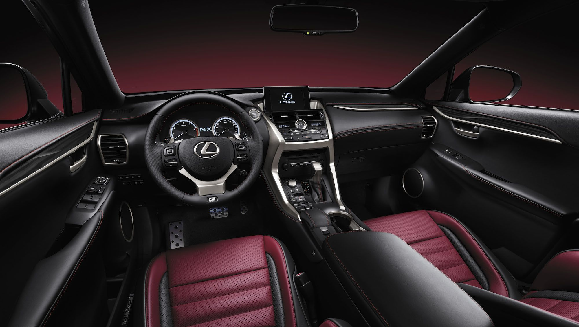 NX first pictures and details Lexus nx 200t