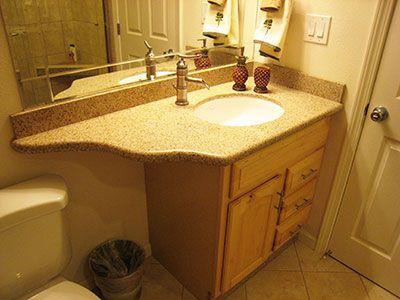 Bathroom Vanity With Weird Curvy Counter Overhang Bathroom Photos Bathroom Vanity Vanity